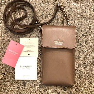 Kate Spade Cross Body Phone & Credit Card Purse